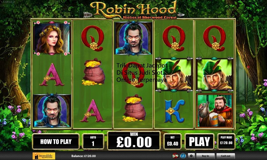 Trik Dapat Jackpot Di Situs Judi Slot Online Terpercaya